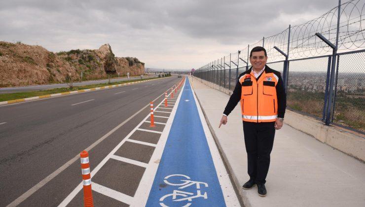 Kepez'in bisiklet yolu ağı yeni projelerle genişliyor