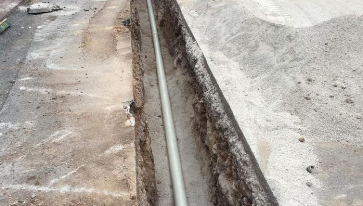 Konyaaltı'nın içme suyu altyapısı yenileniyor