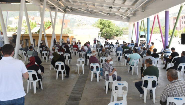 Kuzdere imar planları ile ilgili bilgilendirme toplantısı yapıldı