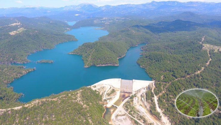 Manavgat Naras Barajından milli ekonomiye önemli katkı