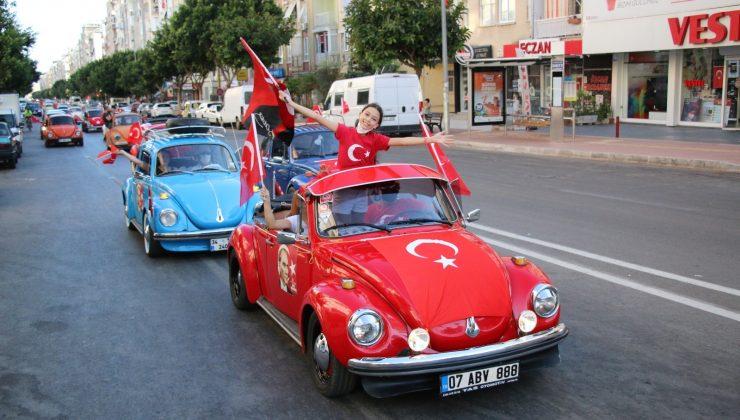 Mobil fener alayı Antalya'yı dolaşacak