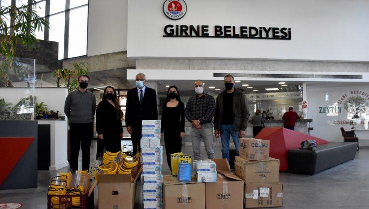 Muratpaşa'dan Girne'ye pandemi desteği