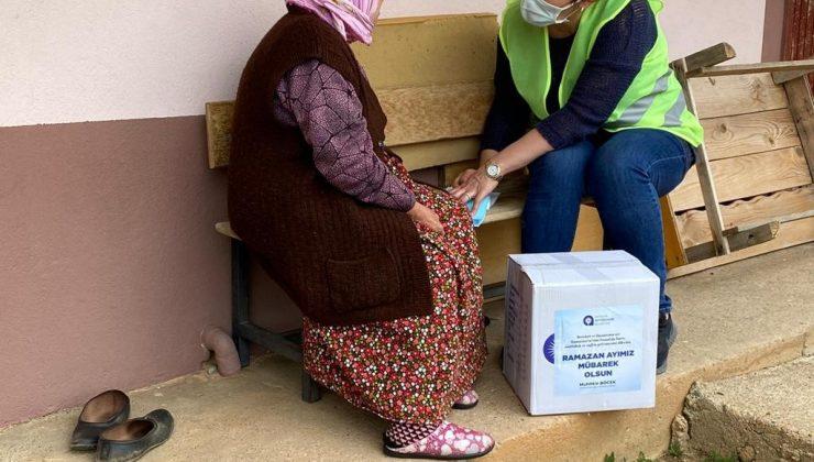 Ramazan gıda paketi yardımları sürdürüyor