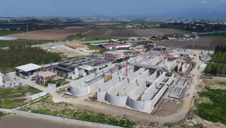Serik-2  arıtma tesisi inşaatının yüzde 80'i tamamlandı