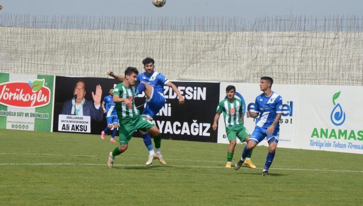 Serik Belediyespor: 0 – Bodrumspor A.Ş: 0
