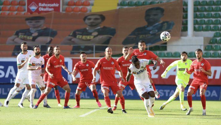 Süper Lig: Aytemiz Alanyaspor: 3 – Gaziantep FK: 2 (Maç sonucu)
