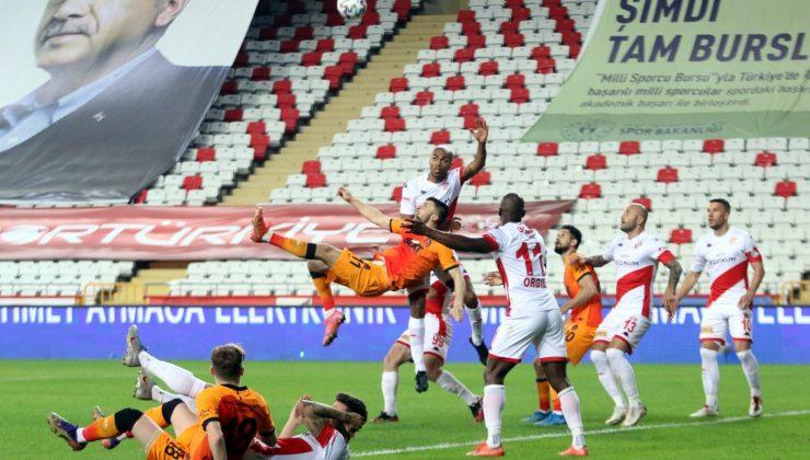 Süper Lig: FT Antalyaspor: 0 -Galatasaray: 1 (Maç sonucu)