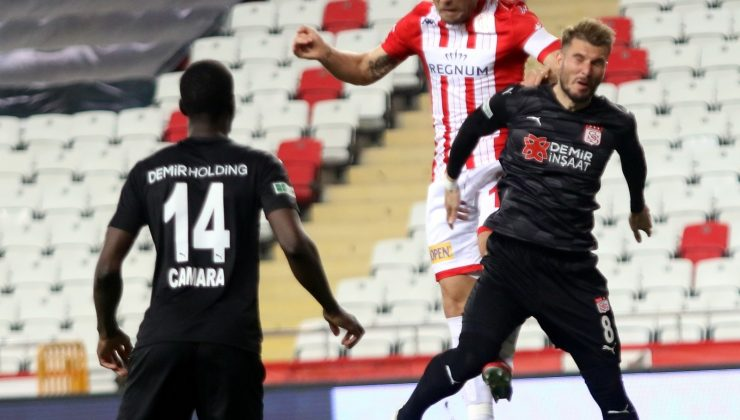Süper Lig: FT Antalyaspor: 2 – DG Sivasspor: 4 (Maç sonucu)
