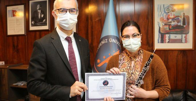 Türkiye'nin ilk ve tek obua profesöründen özel konser