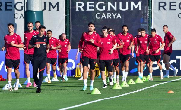 A Milli Futbol Takımı, Azerbaycan maçı hazırlıklarını tamamladı