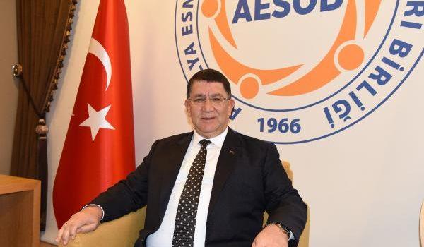 AESOB Başkanı Dere'nin Ramazan Bayramı mesajı