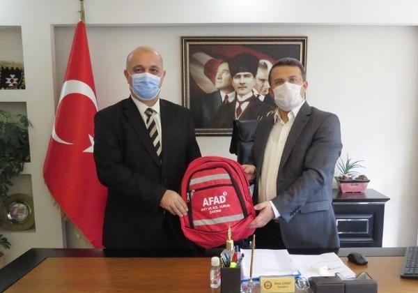 AFAD Müdürü Timur'dan Kaymakam Çimşit'e ziyaret