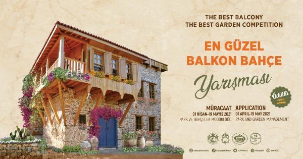 Alanya Belediyesi en güzel balkon ve bahçeyi ödüllendirecek