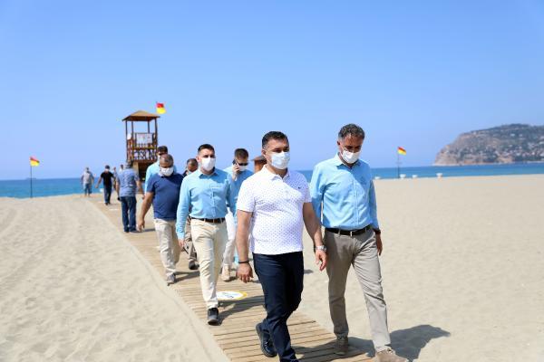 Alanya, mavi bayraklı plaj sayısıyla Antalya'da 2. sırada