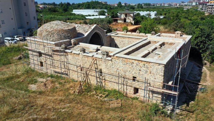 Alanya'da 14. yüzyıla ait tarih ayağa kalkıyor