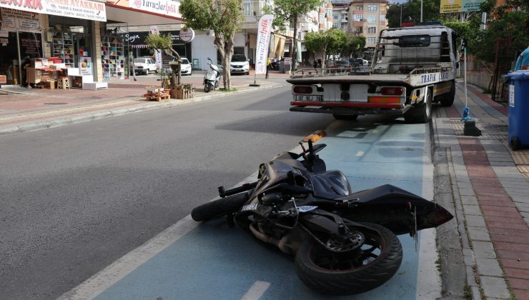 Alanya'da köpeğe çarpan motosikletli genç 21 gün sonra hayatını kaybetti