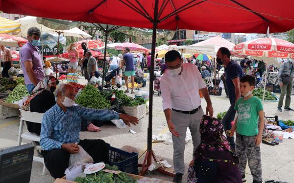 Antalya pazarlarında alışveriş hareketliliği (2)