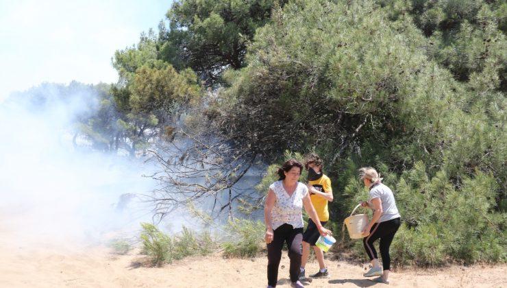 Antalya'da çıkan  üç yangın da kontrol altına alındı