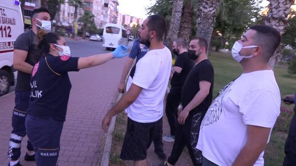 Antalya'da iki grup arasında kavga: 2 yaralı