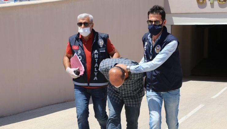 Antalya'da silahlı saldırıda ölen şahsın katil zanlısı tutuklandı