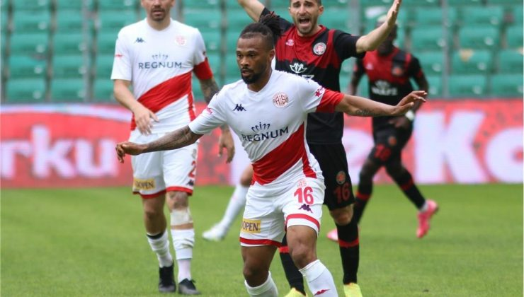 Antalyaspor 5 haftadır galibiyete hasret