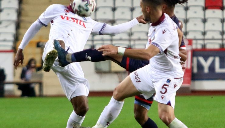 Antalyaspor ile Trabzonspor 70. randevuda