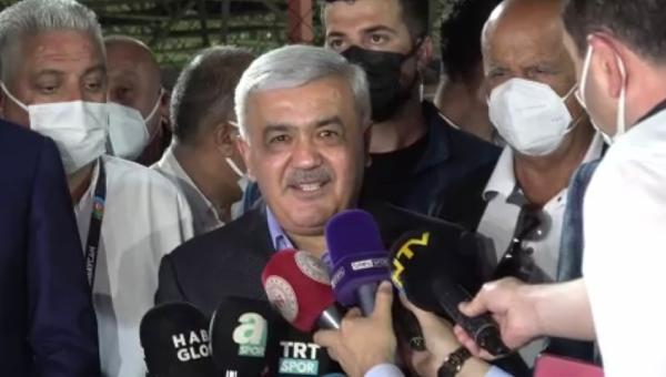 Azerbaycan Futbol Federasyonu Başkanı Abdullayev: Türkiye'nin zaferlerini seyredeceğiz
