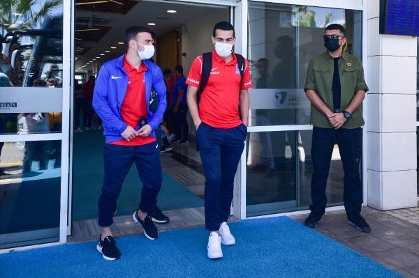 Azerbaycan Milli Takımı, hazırlık maçı için Antalya'da