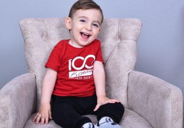 Başkan Böcek'ten Ahmet bebeğe destek