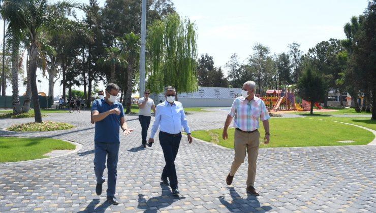 """Başkan Topaloğlu: """"Kemer'e değer katmaya devam ediyoruz"""""""