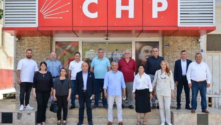 Başkan Uysal, CHP yönetimi ile bir araya geldi
