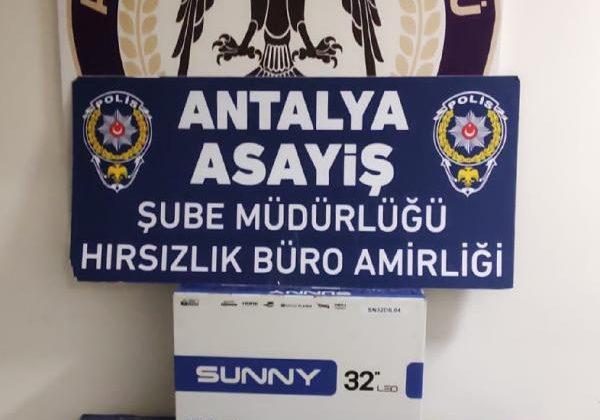Çaldıkları televizyonları internet üzerinden satan 2 kişi tutuklandı