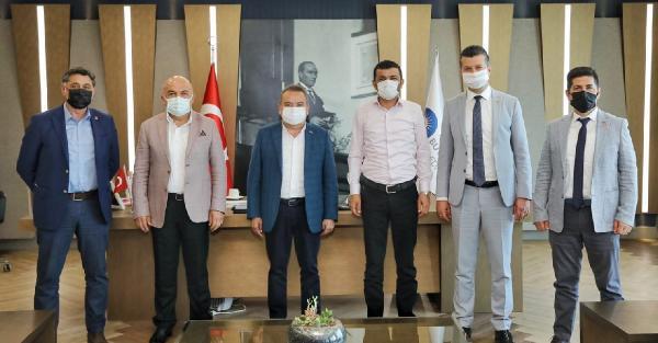 CHP il başkanlarından Başkan Böcek'e ziyaret