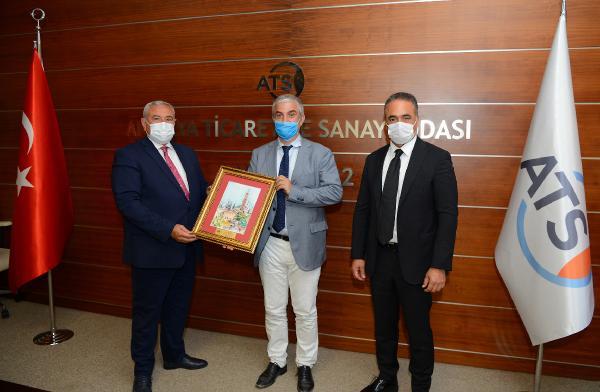 Danimarka Büyükelçisi Annan, ATSO'yu ziyaret etti