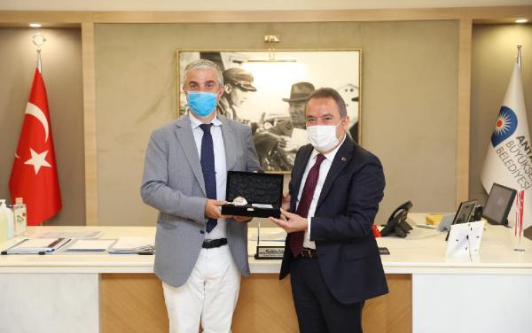 Danimarka Büyükelçisi Annan, Başkan Böcek'i ziyaret etti
