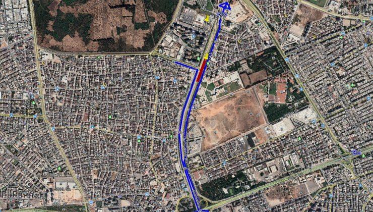 Dumlupınar Bulvarı doğu aksı yarın trafiğe kapatılacak