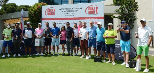 Dünya Amatör Golfçüler Şampiyonası Türkiye finali sona erdi