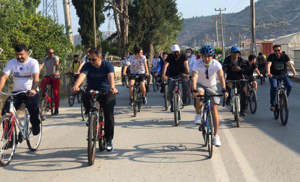 Finike'de bisiklet turu