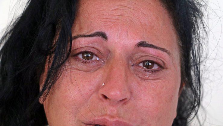 Gözyaşları arasında aradığı kızına bir gün sonra kavuştu