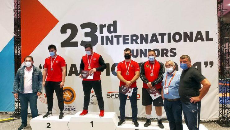 Güreşçi Efe'nin uluslararası başarısı