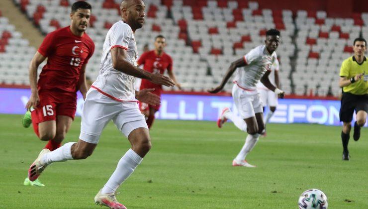 Hazırlık maçı: Türkiye: 0 – Gine: 0 (İlk yarı)