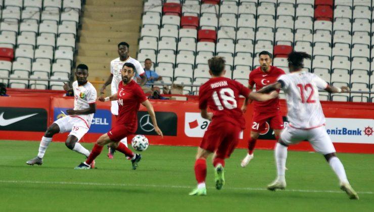 Hazırlık maçı: Türkiye: 0 – Gine: 0 (Maç devam ediyor)