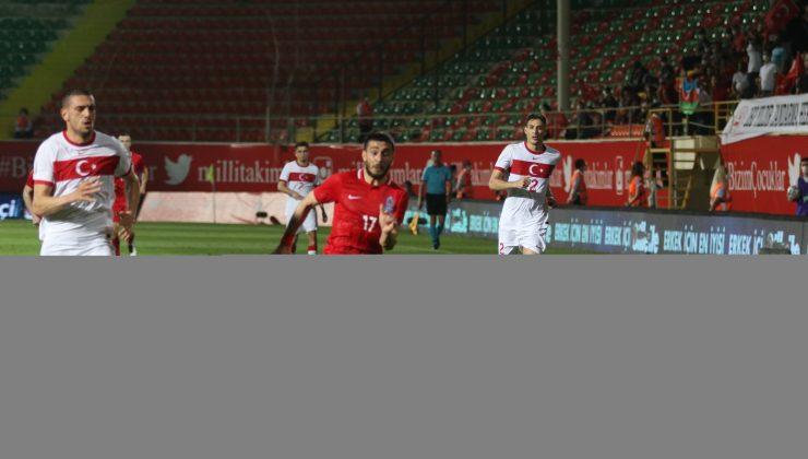 Hazırlık maçı: Türkiye: 2 – Azerbaycan: 1 (İlk yarı)
