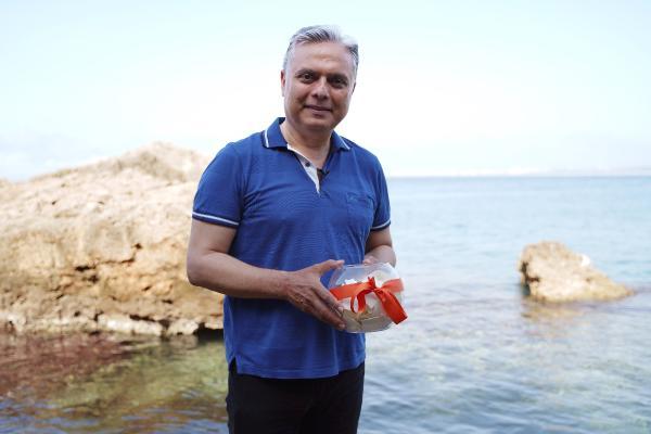 Hıdırellez dileklerini vekaleten Başkan Uysal denize attı
