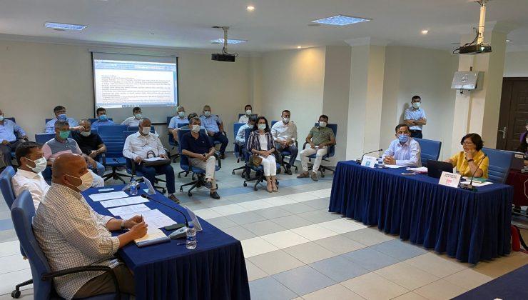 Kaş Belediyesinde mayıs meclis toplantısı yapıldı