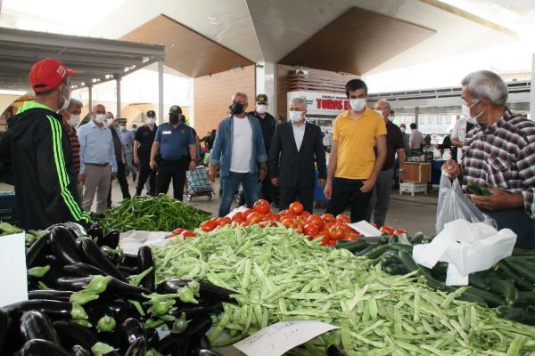 Kaymakam Yiğit'ten pazar denetimi
