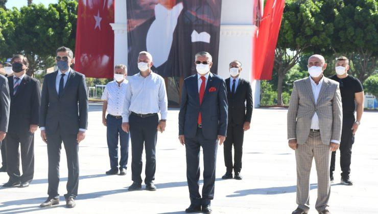 Kemer'de 19 Mayıs Atatürk'ü anma Gençlik ve Spor Bayramı kutlamaları