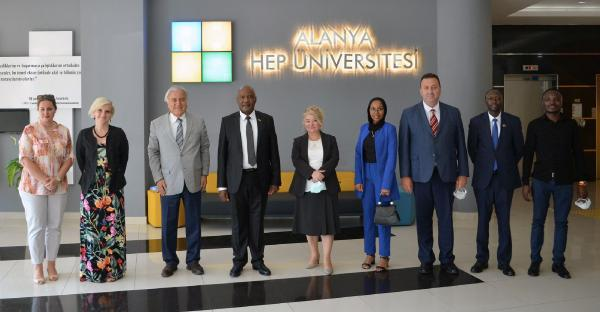 Kenya'nın Ankara Büyükelçisi'nden Alanya HEP'e ziyaret