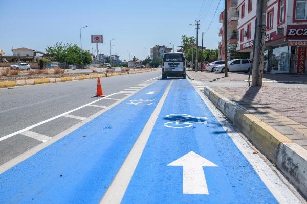 Kepez'e 10 kilometrelik bisiklet yolu yapılıyor