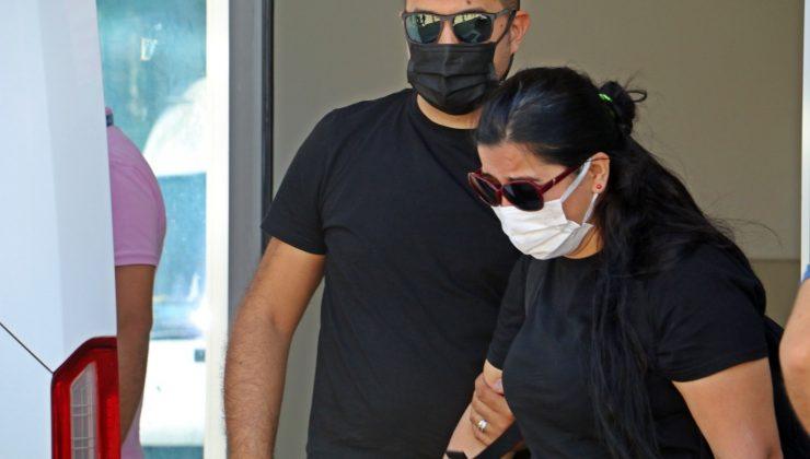 Kocasının boğarak öldürüp kepçeyle gömdüğü kadının cenazesi morgdan alındı